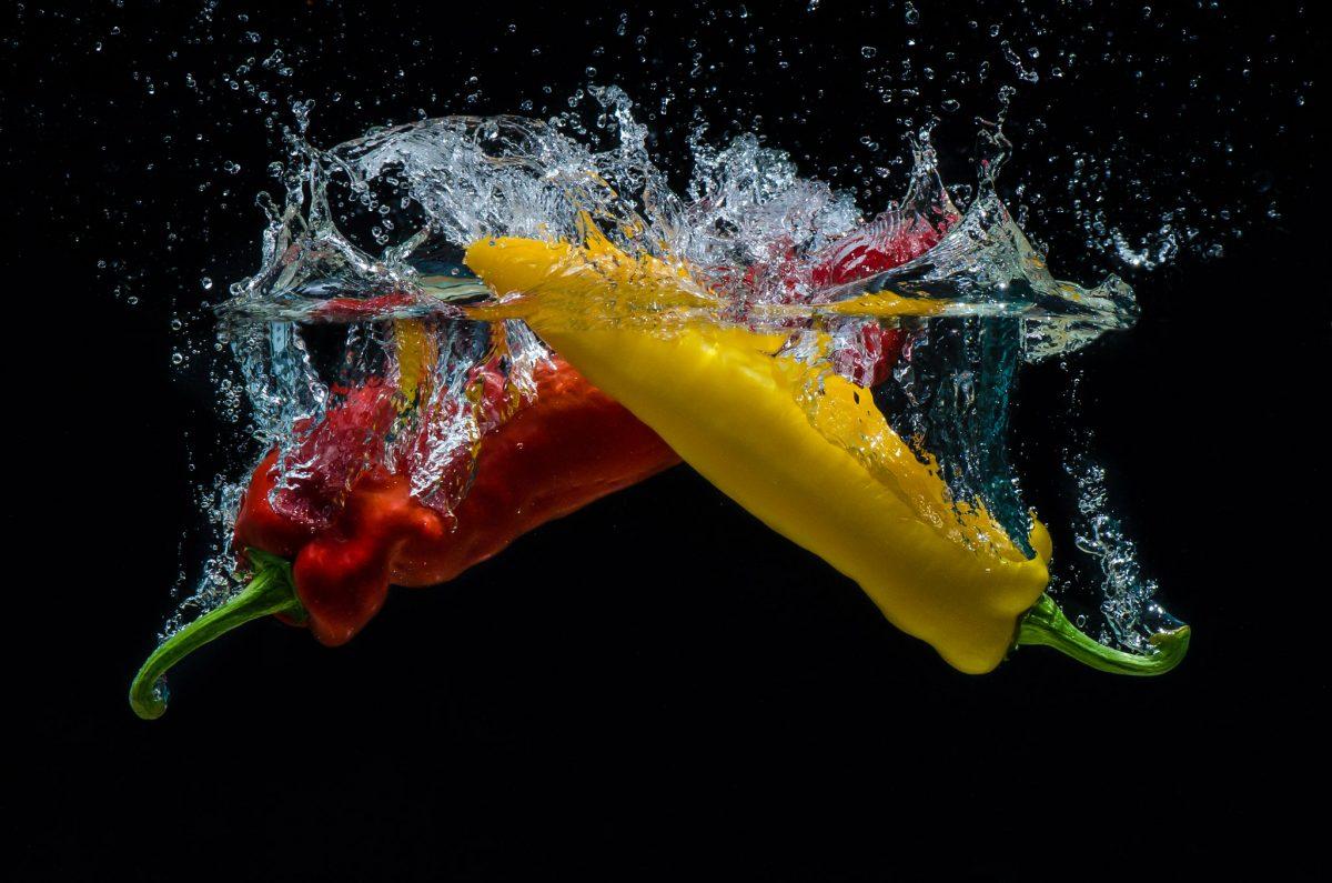 Splash-Gemüse